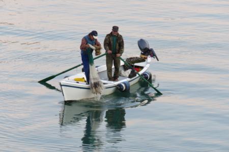 Pesca al rezzaglio nel Magra