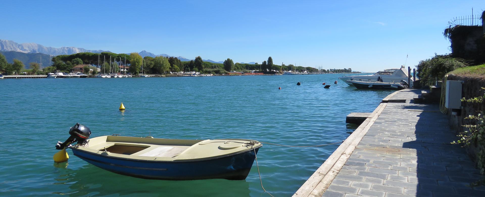 posto barca sul Magra